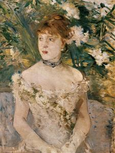 Young Girl in Dancing Apparel by Berthe Morisot