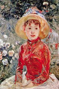Young Girl by Berthe Morisot