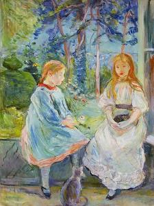 Young Girls at the Window, 1892 by Berthe Morisot