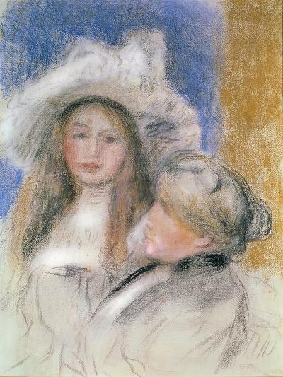 Berthe Morisot-Pierre-Auguste Renoir-Giclee Print