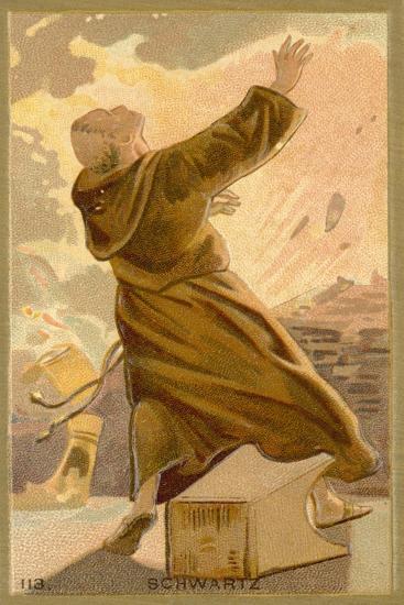 Berthold Schwartz, Legendary Monk and Alchemist--Giclee Print