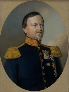 Carl Bernhard, Duke of Saxe-Weimar-Eisenach by Berthold Woltze