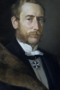 Hans Albert Von Der Gabelentz-Linsingen by Berthold Woltze