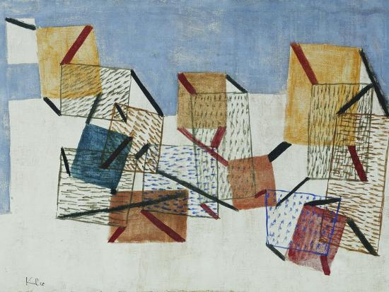 Berths-Paul Klee-Giclee Print
