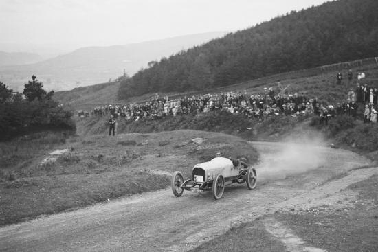 Bertie Kensington Moirs Bentley stripped 2-seater, Caerphilly Hillclimb, Wales, 1923-Bill Brunell-Photographic Print