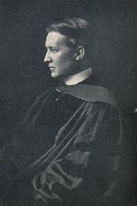 Bertram Grosvenor Goodhue, American architect, 1925