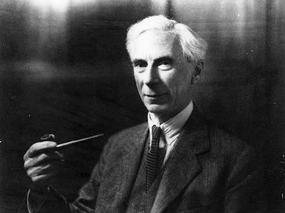 Bertrand Russell-English Photographer-Photographic Print