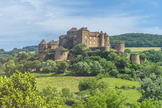 Berze Castle, Burgundy, France-Jim Engelbrecht-Photographic Print