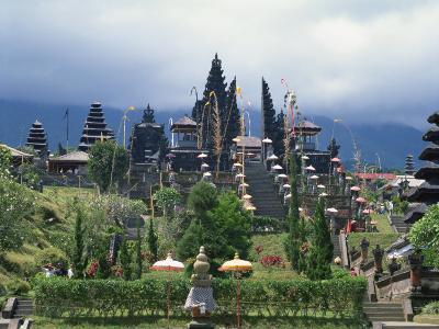 Besakih Temple, Bali, Indonesia, Southeast Asia-Harding Robert-Photographic Print