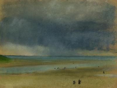 Beside the Sea, 1869-Edgar Degas-Giclee Print