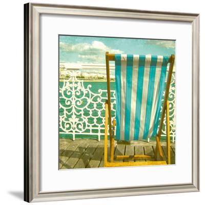Beside The Seaside-Rossana Novella-Framed Giclee Print