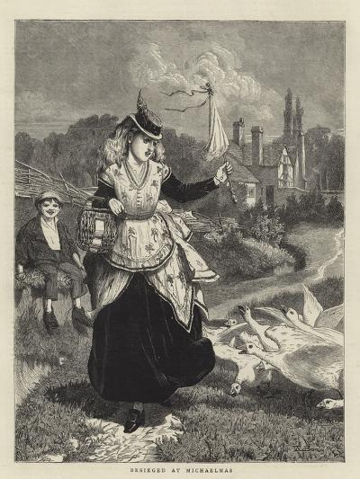 Besieged at Michaelmas-William III Bromley-Giclee Print