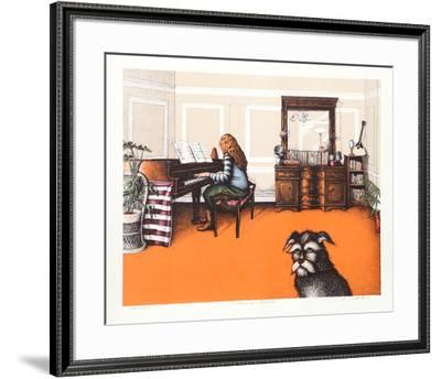 Bessi's Sonata-R. Grote-Framed Limited Edition