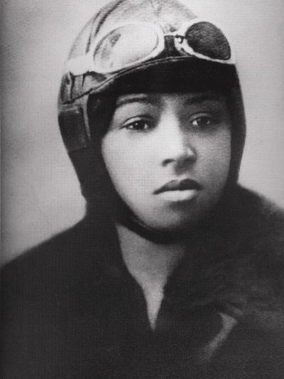 Bessie Coleman (1892-1926), Was an Early African American Pilot--Photo