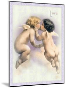 The Kiss by Bessie Pease Gutmann
