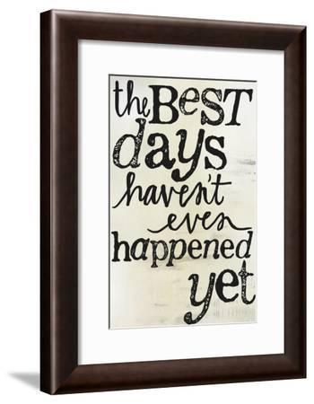 Best Days-Katie Doucette-Framed Art Print