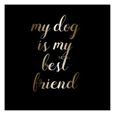 Best Friend Dog-Jelena Matic-Art Print