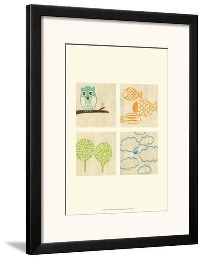 Best Friends Forever IV-Chariklia Zarris-Framed Art Print