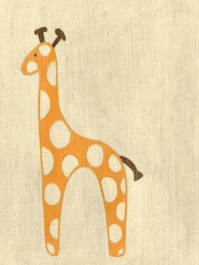 Best Friends - Giraffe-Chariklia Zarris-Art Print