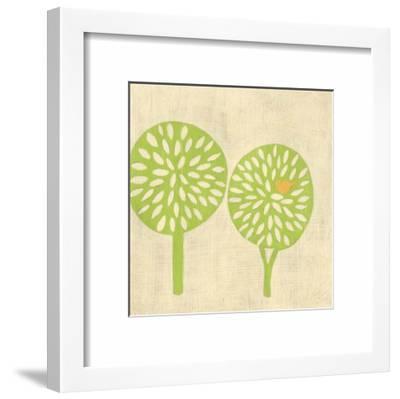 Best Friends - Trees-Chariklia Zarris-Framed Art Print