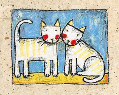 Best Friends-Sophie Harding-Art Print