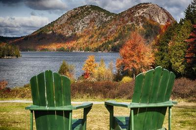 Best Seats in Acadia National Park, Maine-George Oze-Photographic Print