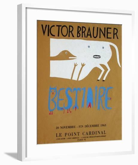 Bestiaire-Victor Brauner-Framed Premium Edition