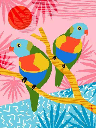 Besties-Wacka Designs-Art Print