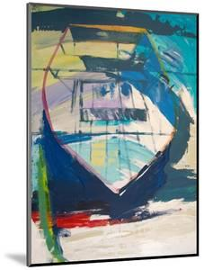 Red Green Skiff by Beth A. Forst