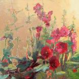 Hannah's Cherry Bomb-Beth A^ Forst-Art Print