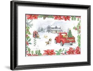 Farmhouse Holidays II by Beth Grove