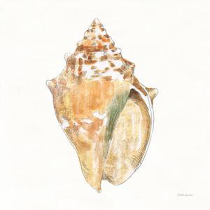 Golden Treasures V on White by Beth Grove