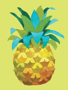 Island Time Pineapples IV by Beth Grove