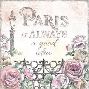 Paris Roses IV by Beth Grove