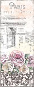 Paris Roses Panel VII by Beth Grove
