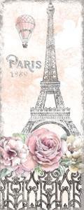Paris Roses Panel VIII by Beth Grove