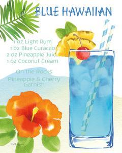 Tropical Getaway I by Beth Grove