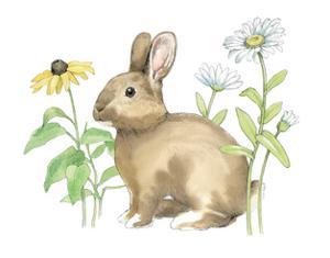 Wildflower Bunnies II by Beth Grove