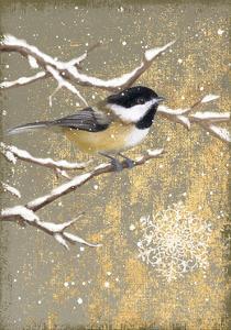 Winter Birds Chickadee Color by Beth Grove