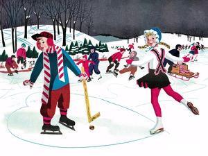 Icy Valentine - Jack & Jill by Beth Henninger