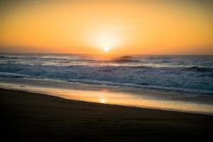 Ocean Sunrise II by Beth Wold