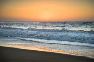 Ocean Sunrise III by Beth Wold