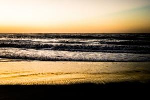 Ocean Sunrise V by Beth Wold