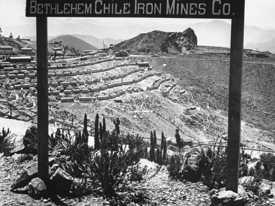 Bethlehem Chile Iron Mines Co. and Operations There, Workers' Homes, Etc--Photographic Print