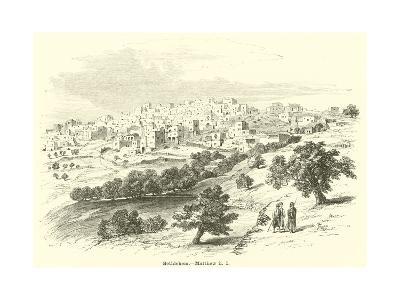 Bethlehem, Matthew, II, 1--Giclee Print
