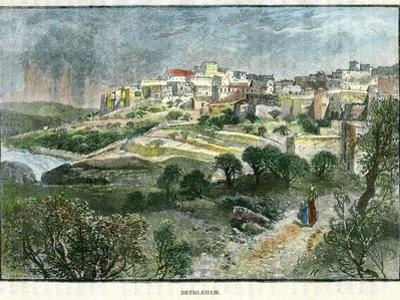 Bethlehem, Palestine, C1885