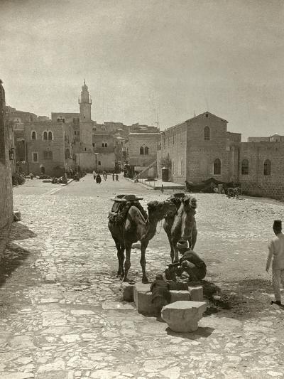 Bethlehem: Street, C1911--Photographic Print