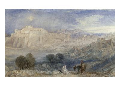 Bethlehem - The Flight into Egypt, c.1833-1836-J^ M^ W^ Turner-Giclee Print