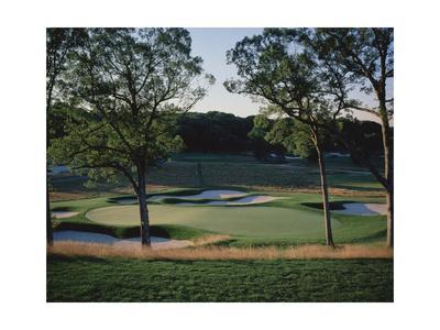 Bethpage State Park Black Course, Hole 17-Stephen Szurlej-Premium Photographic Print