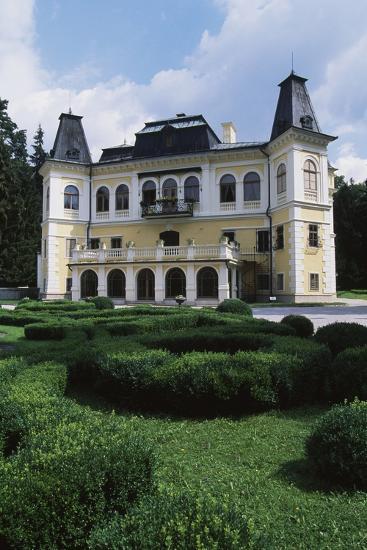 Betliar Manor House, Originally from 15th Century and Renovated in 19th Century, Slovakia--Photographic Print